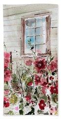 Flower Garden Hand Towel