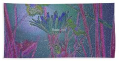 Flower Meadow Bath Towel
