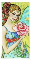 Flower Of  Life Hand Towel