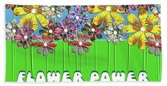 Flower Power Hand Towel