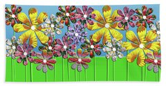 Flower Power Hand Towel