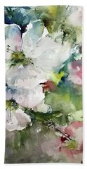 Flower Series 2017 Bath Towel by Robin Miller-Bookhout