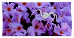 Flower Spider Hand Towel