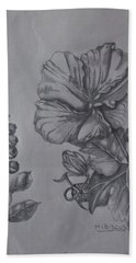 Flower Study 2 Hand Towel