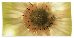 Bath Towel featuring the photograph Flower World by Kathy Bassett