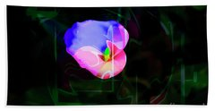 Bath Towel featuring the photograph Flower Wower by Al Bourassa