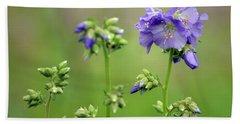 Flowering Cardamine Hand Towel