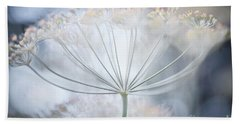 Bath Towel featuring the photograph Flowering Dill Details by Elena Elisseeva