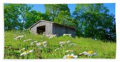 Flowering Hillside Meadow Hand Towel