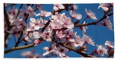 Flowering Of The Plum Tree 5 Bath Towel