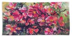 Flowering Quince Hand Towel