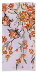 Flowering Tree Hand Towel