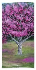 Flowering Tree Bath Towel