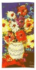 Flowerpot Hand Towel