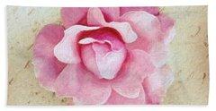 Flowers 3 In Digital Oil Bath Towel