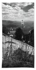 Flowers At The Top Of Table Rock Trail Hand Towel