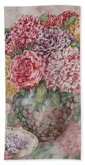 Flowers Arrangement  Hand Towel
