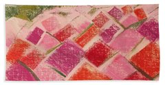 Flowers Fields Hand Towel