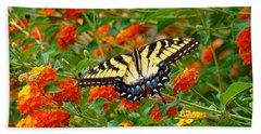 Flowers For Butterflies Bath Towel