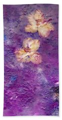 Flowers From The Garden Bath Towel