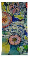Flowers Gone Wild Hand Towel