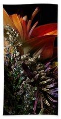 Bath Towel featuring the digital art Flowers 2 by Stuart Turnbull