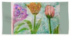 Tulips A'bloom Bath Towel