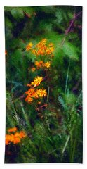Flowers In The Woods At The Haciendia Hand Towel by David Lane