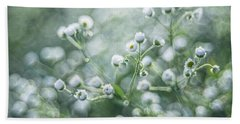 Flowers Hand Towel by Jaroslaw Grudzinski