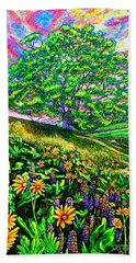 Flowers.tree Hand Towel