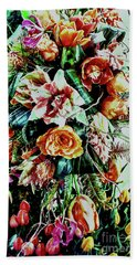 Flowing Bouquet Hand Towel