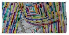 Flowing Color II Hand Towel by Suzanne Gaff