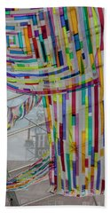 Flowing Color Hand Towel by Suzanne Gaff