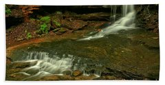Flowing Through The Forbes State Forest Hand Towel