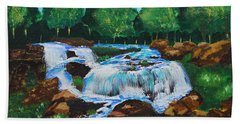 Flowing Waters Hand Towel