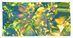 Fluttering Of Color Hand Towel