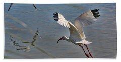 Fly Away Hand Towel by Carol Groenen