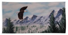 Fly Like An Eagle Hand Towel