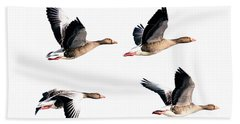 Flying Geese Hand Towel