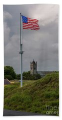 Flying Proud Over Fort Moultrie Hand Towel