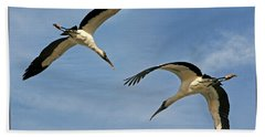 Flying The Friendly Sky Hand Towel