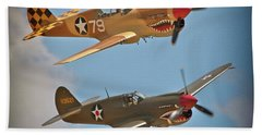 Flying Tigers Two Bath Towel