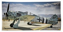 Focke-wulf 190 What Da Focke-wulf Bath Towel