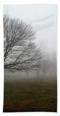 Fog Bath Towel by John Scates