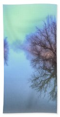 Fog On The Redwater Hand Towel by Fiskr Larsen