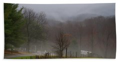 Foggy Day Hand Towel