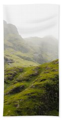 Hand Towel featuring the photograph Foggy Highlands Morning by Christi Kraft