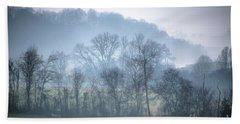 Foggy Hills Bath Towel