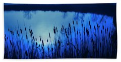Foggy Marsh2 Bath Towel