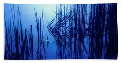 Foggy Marsh3 Bath Towel